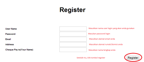 Form Register pay4shares